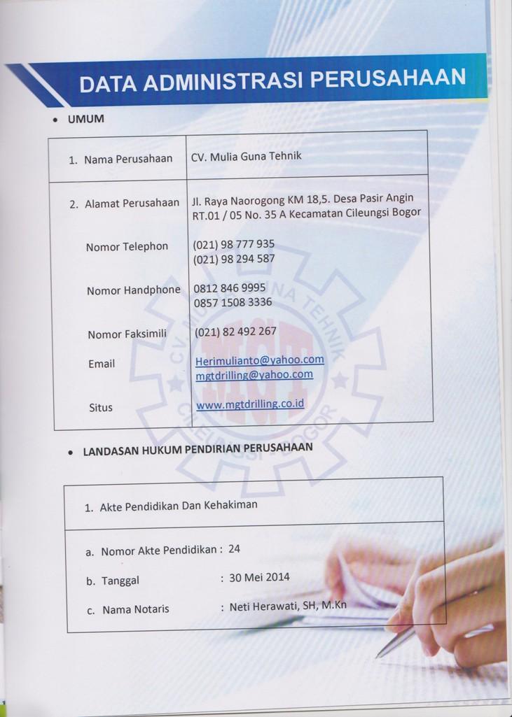 Company Profil 18 001