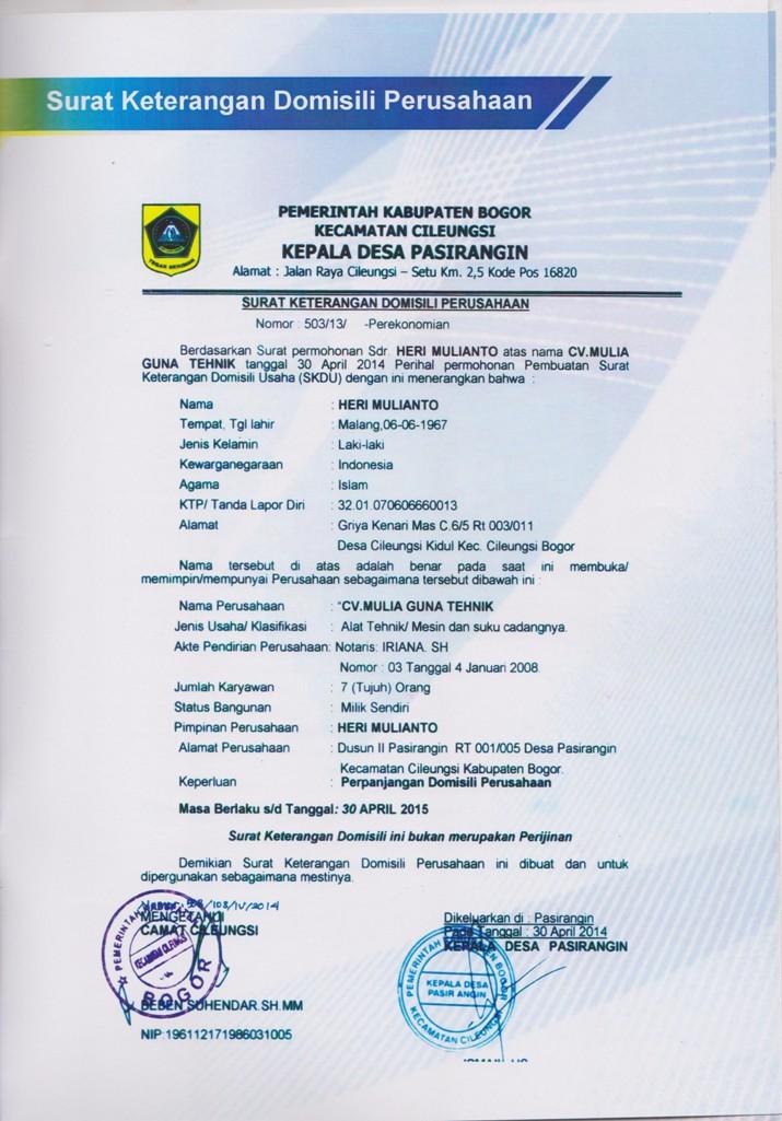 Company Profil 20 001